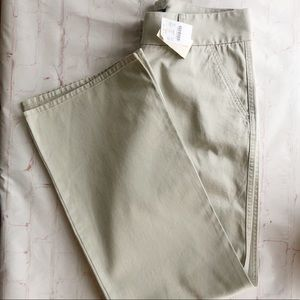 [J. Crew] NWT regular favorite fit pants size 6